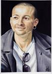 Chester Bennington by KerovinBlack