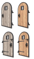Bryce Doors Set 2 by mysticmorning