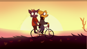 Night In The Woods Redraw by Cattboi