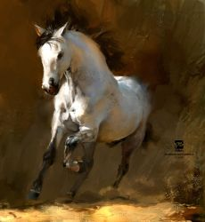 20160822 Horse Psdelux by psdeluxe