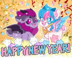 Happy New Year! by Kris-Goat