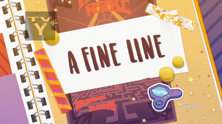 MLP Equestria Girls A Fine Line part Name by Wakko2010