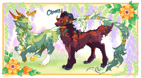 .:Floral Keb Auction:. closed by Hauket