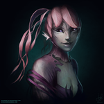 Guild Wars 2 Portrait Commissions - Eviern by jylgeartooth