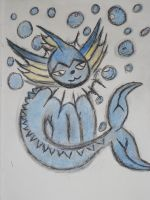 pokemon vaporeon (Color) by metalwolf77777