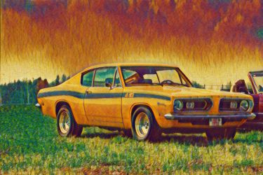 1969 Plymouth Barracuda 440 by mirroreyes1