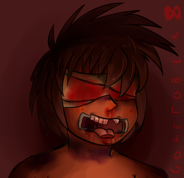 Goretober 8 - TORTURED by Deidrastic
