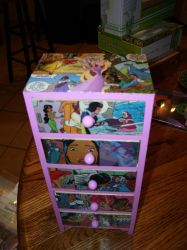 Disney Princess Keepsake Box w/Five Drawers by UnderdogGirl