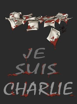 Je suis Charlie by Sybarico