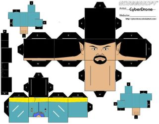 Cubee - Spock 'Mirror Ver' by CyberDrone