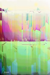 Untitled Abstract 010 by wlkr