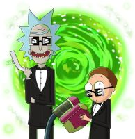 Rick and Morty by Coolygirl03