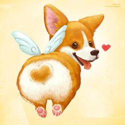 Corgi Love by IngridTan