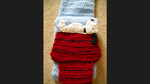 Crocheted Snoopy Scarf by happydoo2