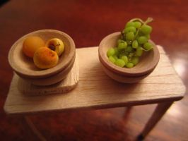 Grapes, Apricot, and Peach by sonickingscrewdriver