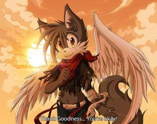 Guardian Angel by Chibi-Nuffie