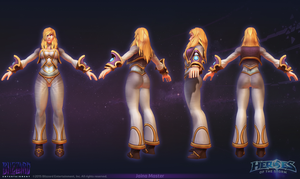 Jaina Master - Close look at Model by PlanK-69
