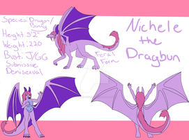 Dragoness Ref Sheet by Insane-Lioness