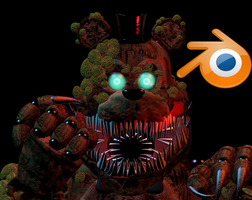 Twisted freddy blender release by HayStudios