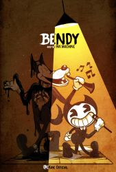 BENDY and the ink machine by CKibe