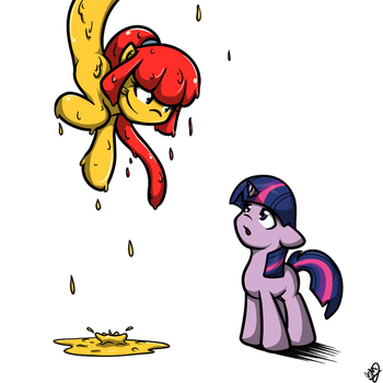 Fillies for a slime 1/? by OakenChi