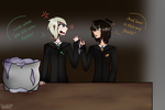 Seating Arrangements (Harry Potter) by ZombieWolfPlays