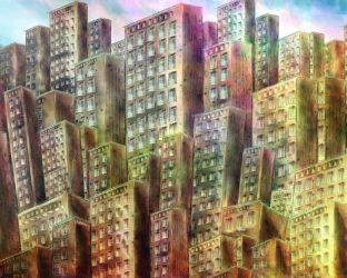 Downtown Real Estate by rabbitica