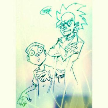 Rick and Morty by 122476