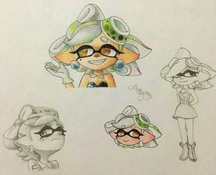 .:*Marie doodles*:. by AmyRosers