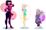 Crystal Gems Girls by IriusAbellatrix