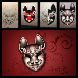 Kumiho Mask by dunedhel