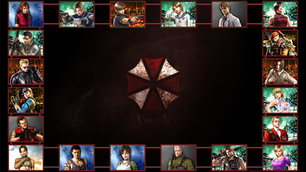 Resident Evil (2) by AuraIan