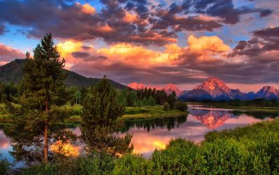 Oxbow Grand Teton National Park Wyoming by ticklemeimsexy