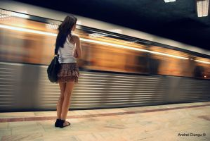 Subway girl by ciungboyfun