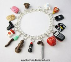 Sherlocked Charm Bracelet 1 by egyptianruin