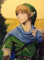 Portrait of Link, Laovaan by DNLINK