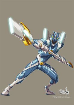 Blue Ranger by Fpeniche