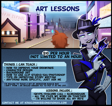 Art lessons by The--Magpie