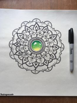 Mandala by thedragoncastle