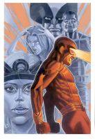 Cyclops and the Xmen by riq