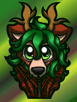 Commission: Bust of Nils by WillowTails