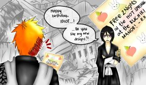 Break time: Happy birthday, Ichigo! by jaydz-05