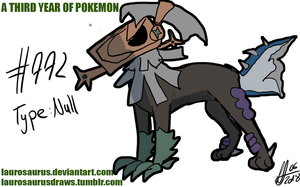 A third year of pokemon: #772 Type Null