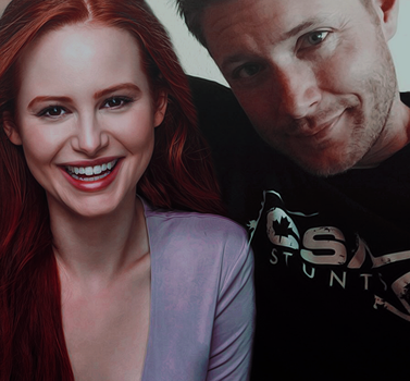 Jensen Ackles y Madelaine Petsch by XxAantoxX