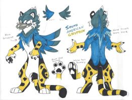 South American Gryphon by Nepenthe-SSMB