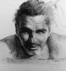Charcoal Portrait 0010 by AATheOne