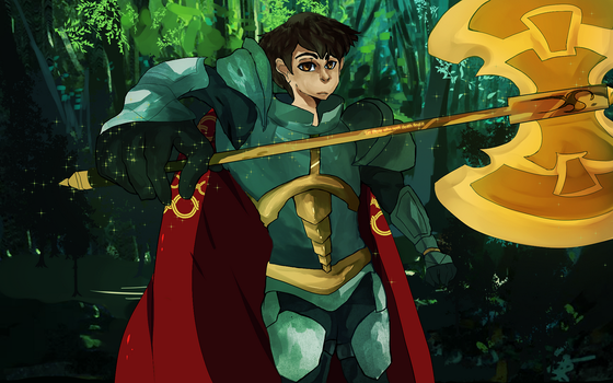 artix the paladin by dimifrost