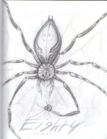 Eighty the Giant Spider redesign by nightmarn