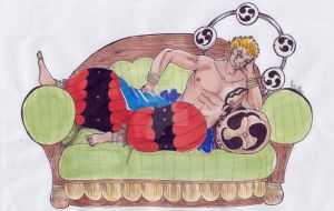 God Laxus by kymyit