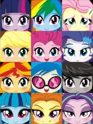 Equestria Girls Profiles by ELJOEYDESIGNS